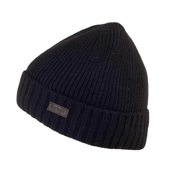 Barbour BAACC1555 BK11 Sombreros hombre negro TU: Amazon.es: Ropa ...
