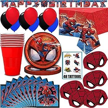 Amazon.com: Marvel Spiderman Suministros para fiestas ...