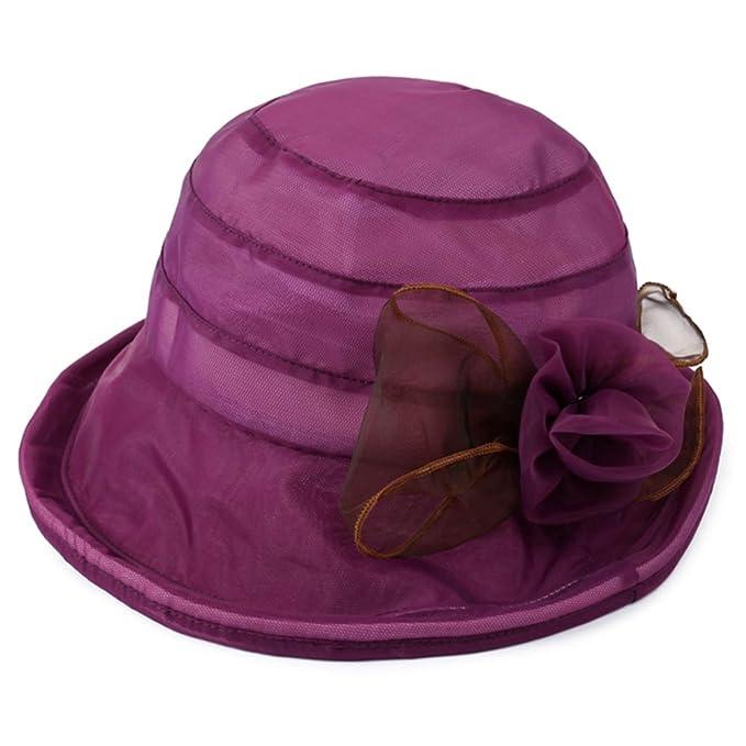 892acc28622ef YJRA DHDB Sombreros De La Manera del No Viewer Sombreros Pequeños Sombreros  De
