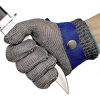Schwer Cut Resistant Gloves Stainless Steel Wire Metal