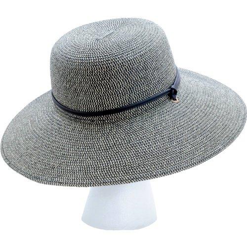Sloggers Women S Wide Brim Braided Sun Hat With Wind