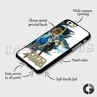 Legend of Zelda Breath Wild Game Link Fantasy Hard Clip Phone Case Cover  for iPhone 8 Plus Black