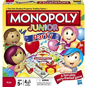 Monopoly Junior Party Packaging May Vary