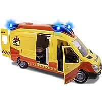 Ambulancia SEM de 34cm con luz y sonido