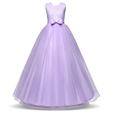 Amazon.com: Lace Princess Dresses for Girls Clothes Tulle Children\'s ...