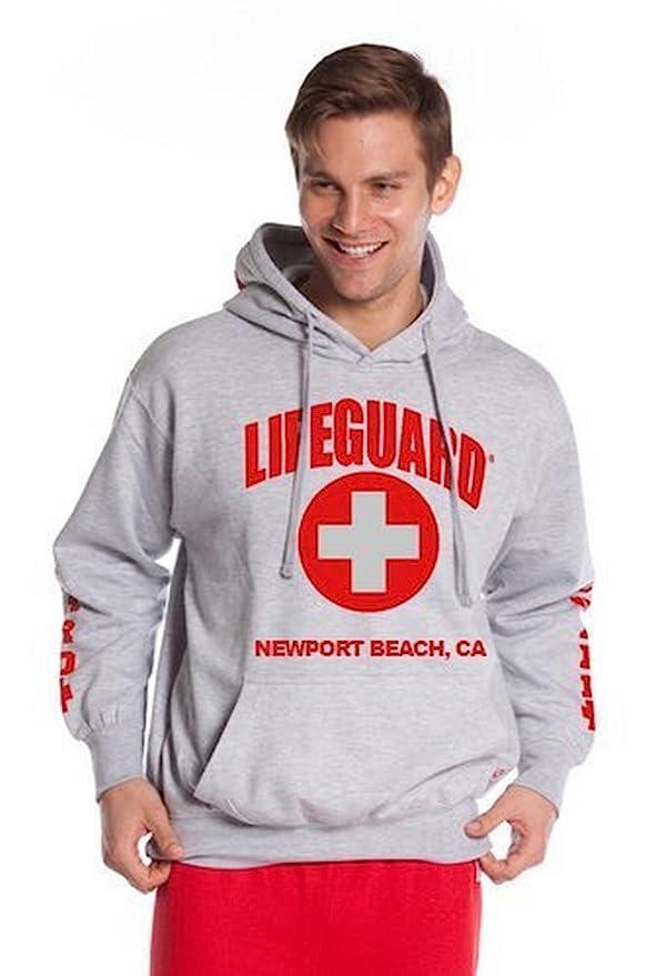 7b05ec2ec52 Amazon.com  LIFEGUARD Official Guys Newport Beach Hoodie  Clothing