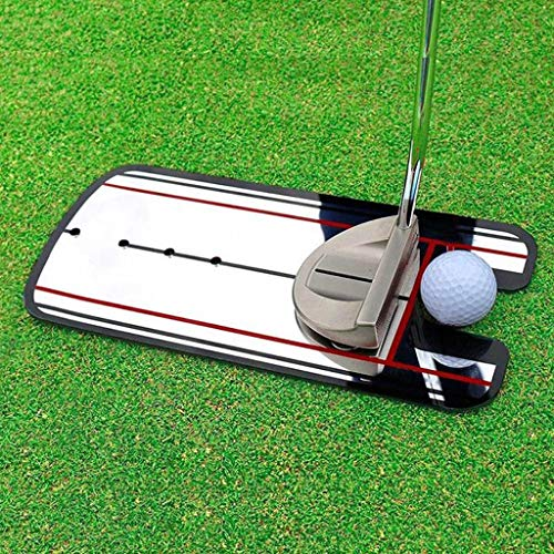 Maikouhai Golf Putting Mirror, Pro Golf Putting Mirror Training Eyeline Alignment Swing Practice Trainer Aid for Accurate Golf Posture