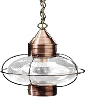 product image for Brass Traditions 612-GM Large Hanging Onion Lantern, Gun Metal Finish Hanging Onion Lantern
