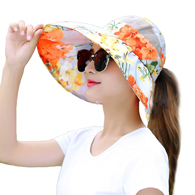 6c655752 Raycoon Hat Summer Sun Sun Hat Korean Version Of Leisure Travel Wild Fold  UV Sun Visors
