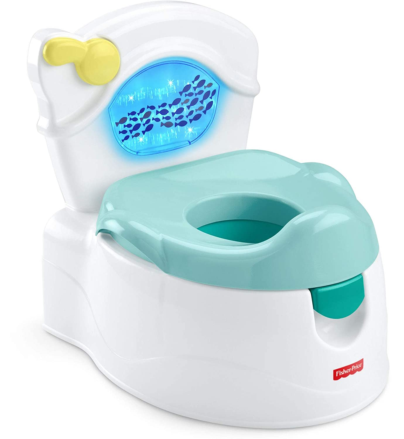 Fisher-Price Sea Me Flush Potty, Musical Toddler Training Chair, Multi (GMP68)