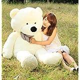 Galaxytree White 47''(120cm) Giant Huge Cuddly Stuffed Animals Fluffy PlushTeddy Bear Toy Doll