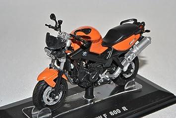 MODELLCARSONLINE BMW F800 R Orange 1 24 Modell Motorrad