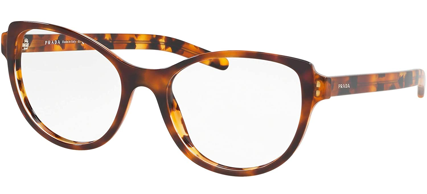 Prada PRADA POSTCARD EVOLUTION PR 12VV LIGHT HAVANA women Eyewear Frames