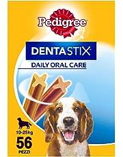 Pack de 56 Dentastix de uso diario para higiene oral para perros medianos