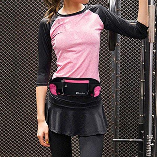 Portable Multi Rouge Exercice Banane Youthny Pochette Course Légère Rose Sac pour Marathon Sport RYSaTq