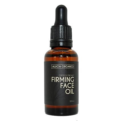 Alucia Organics aceite de cara reafirmante (Firming Face Oil) orgánico certificado 30 ml: