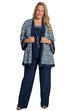 4047e6b3b44 R M Richards Mother of The Bride Plus Size Pant Suit at Amazon Women s  Clothing store