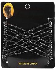 Elástico Peinetas - Peine de Pelo Complementos para el Cabello Peine flexible para el cabello Broche elástico para mujeres Accesorios para Cabello Grueso y Fácil para las Mujeres (3#)