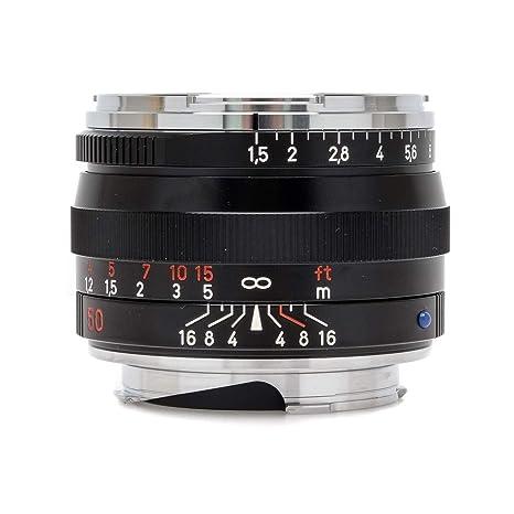 Carl Zeiss C-Sonnar T* ZM - Objetivo para montura Leica M (50 mm ...