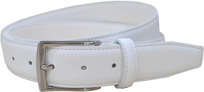 "Men's Golf Belts Genuine Leather Dress Belt 1 3/8"" Wide"