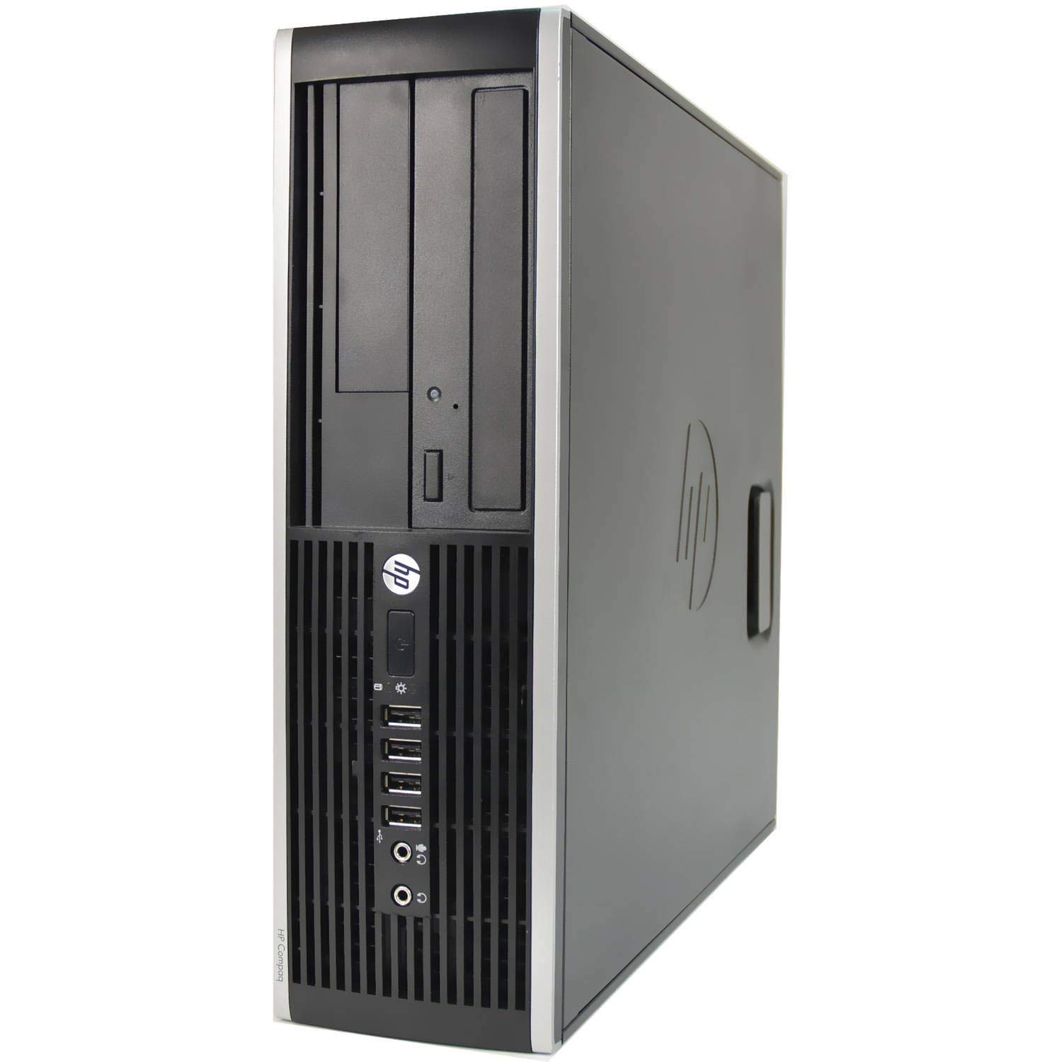 HP Desktop, Dual Core AMD, New 8gb Memory, 500gb, DVD, Windows 10 Professional, WiFi Wireless (Renewed)