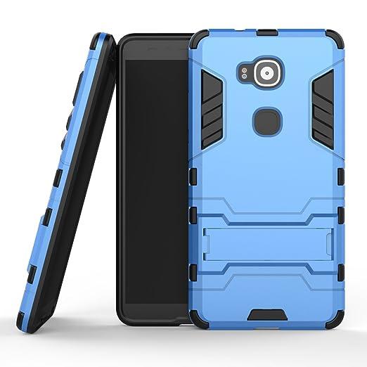 95 opinioni per MOONCASE Huawei G8 Custodia Dual Layer Case ibrida Rigida Morbido Armatura