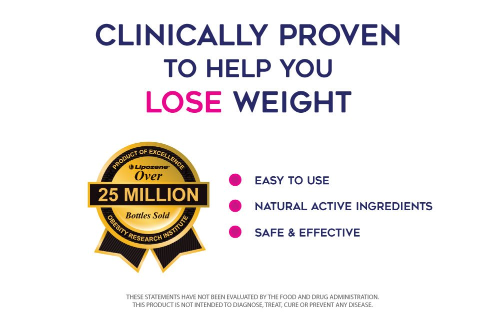 Lipozene Weight Loss Pills 2x30 Count Bottles with 30 Count MetaboUp Plus by Lipozene (Image #7)