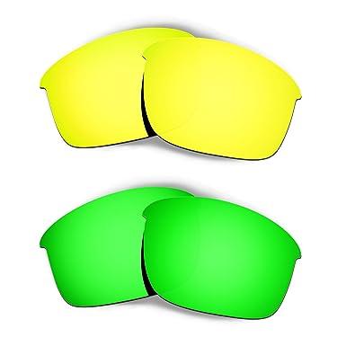 HKUCO Plus Mens Replacement Lenses For Oakley Madman Sunglasses Emerald Green Polarized uRlx61R9d