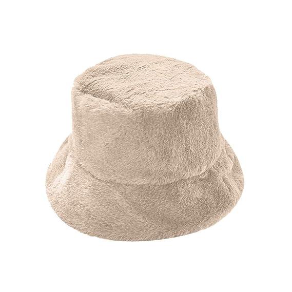 Sombreros de Pescador Popular Cálida Gorras Mujeres Diseño Simple ...