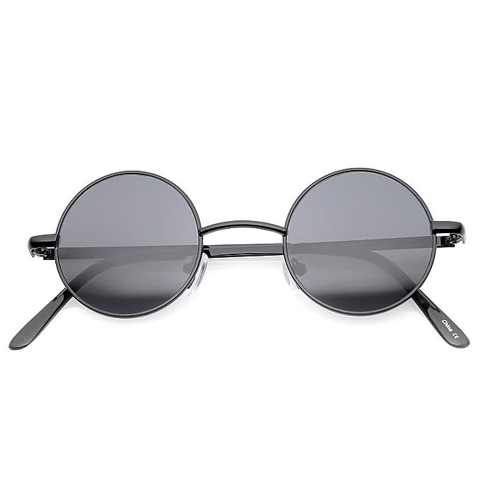 Amazon.com: Sunglassla – Gafas de sol pequeñas redondas ...