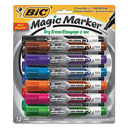 BIC Bold Dry Erase Marker (GELITP121AST)