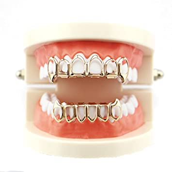 Hip Hop Grillz Iced out Grillz for Men   Women Removable Grillz Teetn Top  and Bottom 596d78341