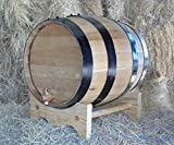 Charred American Oak Aging Barrel - No Engraving (20 Liter)