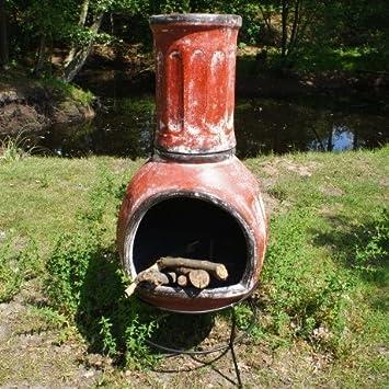 Mazatlan Hohe 140cm Terrassenofen Aus Ton Mexiko Ofen Amazon