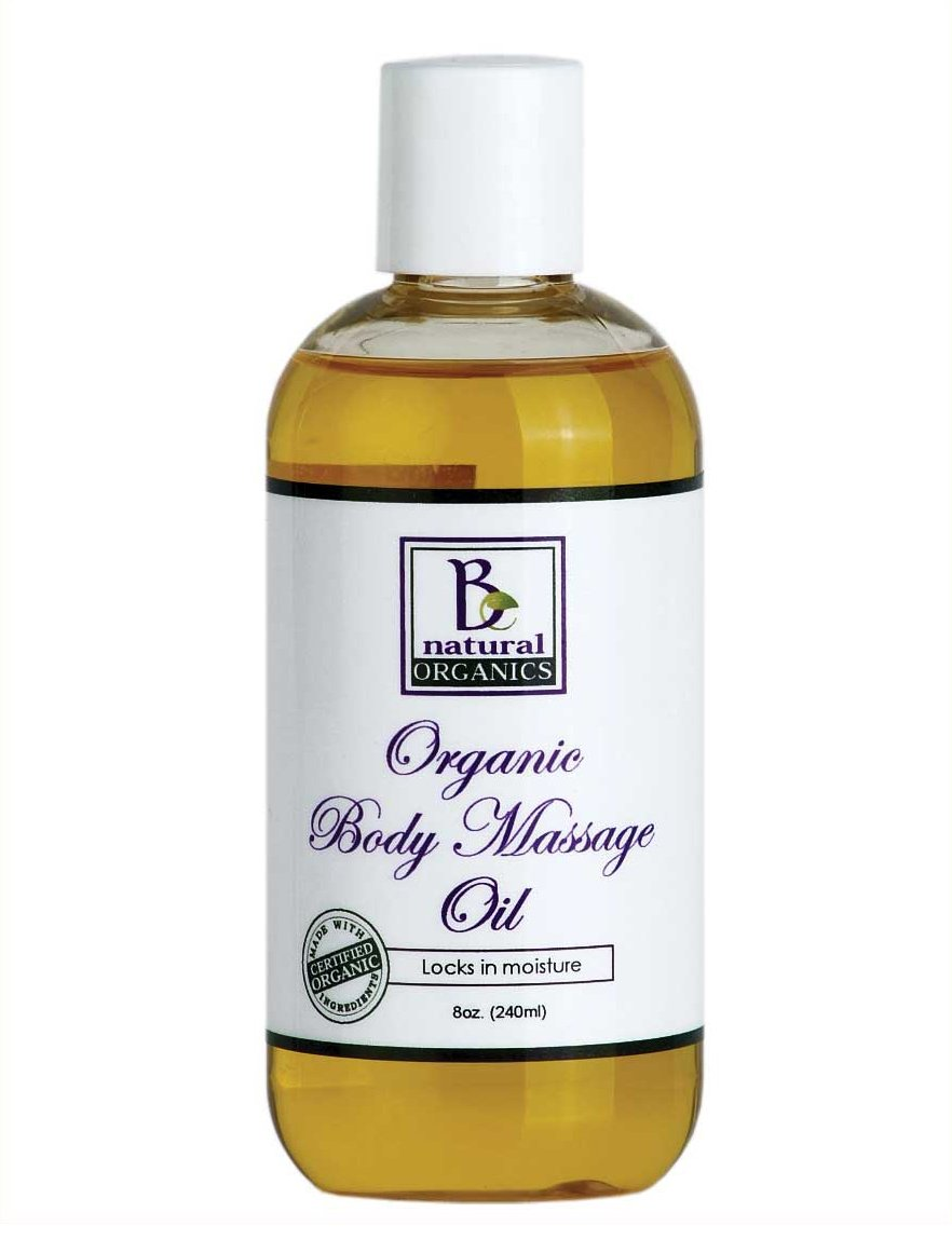 Be Natural Organics Organic Body Massage Oil