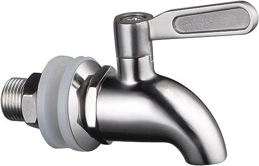 llave de barril para bebidas fr/ías dispensador de bebidas de acero inoxidable Llave de barril de acero inoxidable