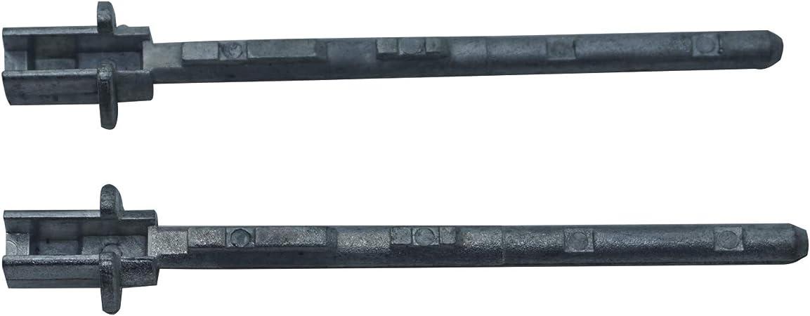 EDP41FBA - 2 piezas de manilla de puerta corredera trasera para Pe ...