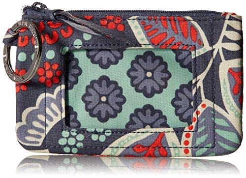 Vera Bradley womens Zip Id Case, Nomadic Floral, One size by Vera Bradley