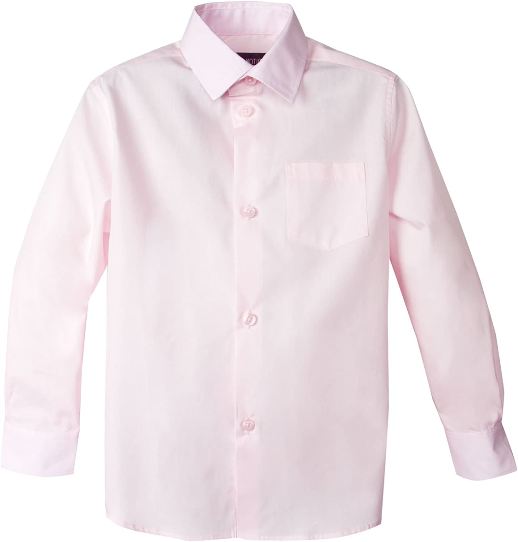 Spring Notion Baby Boys Long Sleeve Dress Shirt 24M Marshmallow Pink