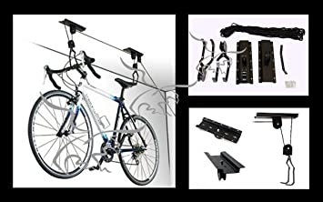 Soporte Elevador De Bicicletas Para Colgar En El Techo Amazones - Colgar-bici-techo
