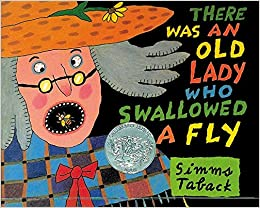 amazon com there was an old lady who swallowed a fly 9780670869398