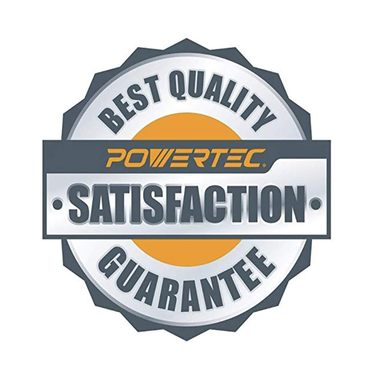 10-Pack POWERTEC 110260 6-Inch PSA 100 Grit Aluminum Oxide Adhesive Sanding Disc