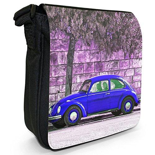 Old Canvas Black Beetle Classic Blue Size Car Shoulder Bag Small vwrSnx4v