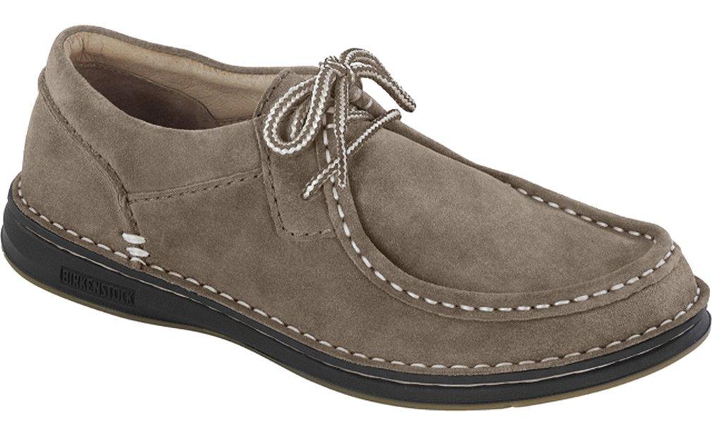 Birkenstock Pasadena Shoe - Women's Taupe Suede 36