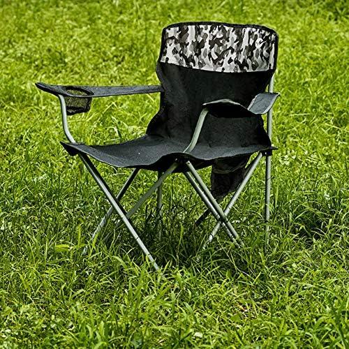 Silla de Playa Plegable de la Orilla al Aire Libre, Conveniente para la Silla portátil Que acampa al Aire Libre del césped de la Playa del jardín
