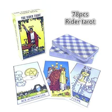 Honey MoMo Cartas de Tarot,Juguete de la Novedad,Sombra / Bruja / Salvaje / Rider Tarot Versi¨®n en ingl¨¦s Misteriosas Tarjetas para Fiestas ...
