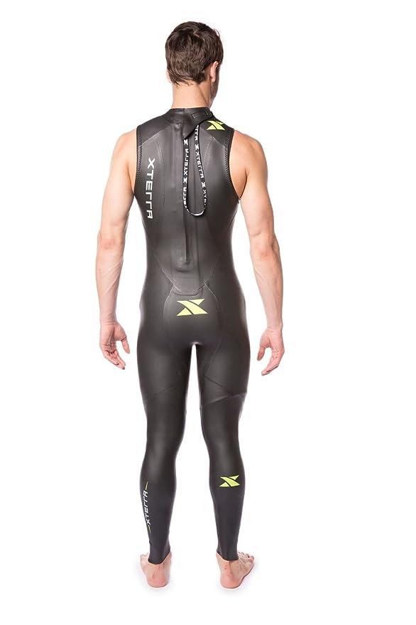 Xterra - Traje de Neopreno para Hombre Volt Triathlon sin Mangas 3 ...