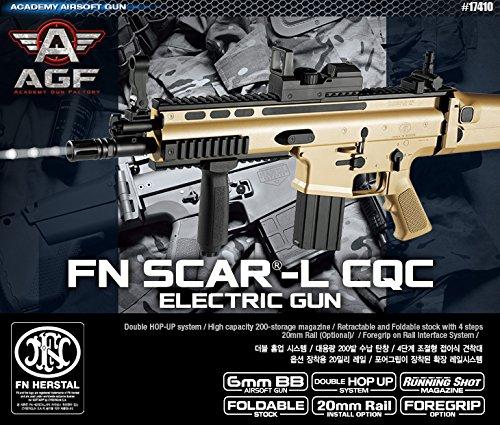 K-Crew Academy FN Scar-L CQC Automatic Electric Gun BB Gun #17410