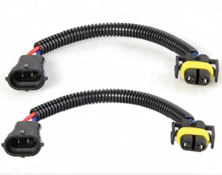 2 pièces H8//H9//H11 Ampoule Prise Femelle Adaptateur Connecteur pour Phare B