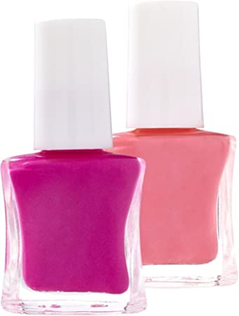 Amazon.com: Ulta Sweet & Shimmer 2pc Nail Polish Set, Pink & Peach ...